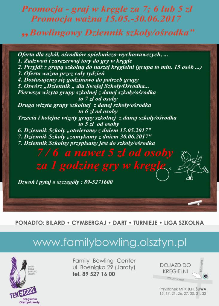 Promocja dla szkół Dziennik Szkoły 2017